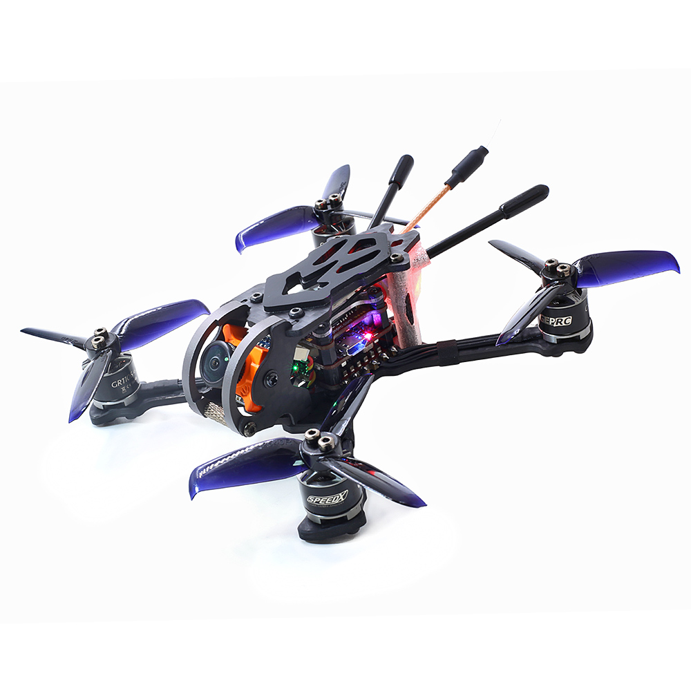 GEP-PX2.5 Phoenix 600TVL Camera 125mm <font><b>FPV</b></font> <font><b>Racing</b></font> <font><b>Drone</b></font> RC Quadcopter Dron Parts w/ Frsky Receiver BNF image