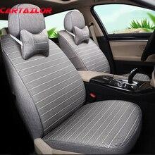 Cartailor сиденья лен и шелка льда укладки Пользовательские для Chevrolet Camaro Чехлы для мангала для автомобиля Салонные аксессуары сиденье протектор