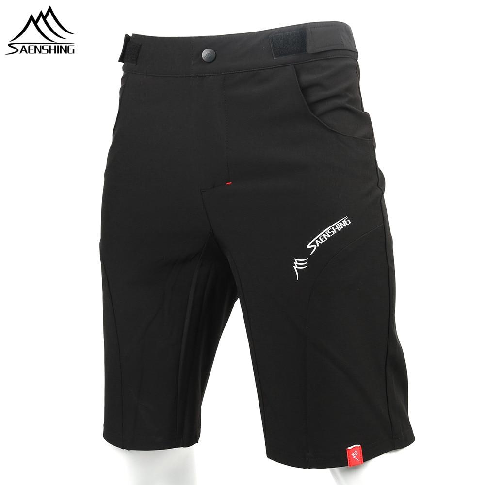 SAENSHING Cycling Shorts Men Bicycle Downhill Mtb Shorts Adjustable Waist Mountain Bike shorts Sport Short Vtt bermuda ciclismo