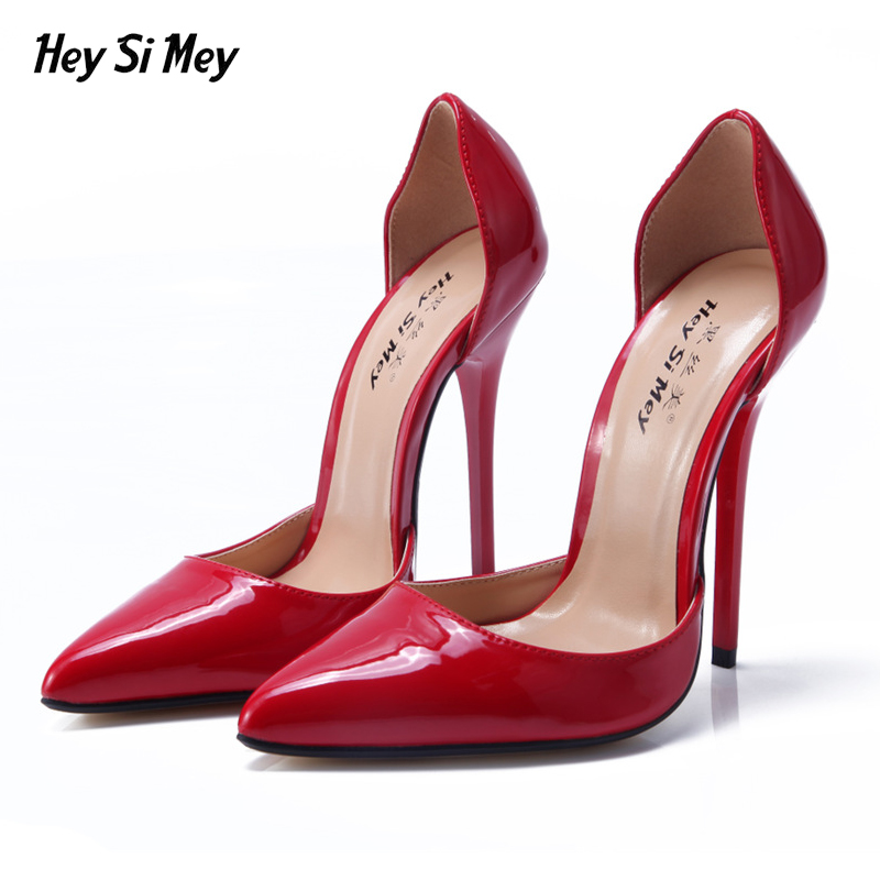 Women Pumps summer Sexy small Pointed Toe Sweet Thin High Heels Shoes high-heeled shoes Hollow on both sides single shoes lakeshi new fashion pumps thin sexy high heeled shoes woman pointed suede hollow out bowknot sweet elegant women shoes
