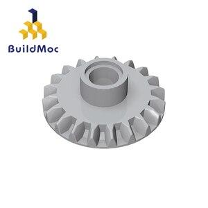 Совместимые детали BuildMOC 87407 для строительных блоков, детали для DIY логотипа, развивающие технические детали, игрушки
