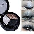 8 pçs/set 3 cores smoky conjunto de cosméticos profissional naturais brilho fosco sombra maquiagem nude naked paleta da sombra de olho sombra de olho