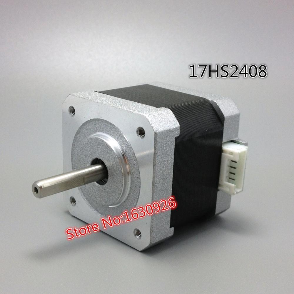 Free Shipping 1 Pcs 17hs2408 4 Lead Nema 17 Stepper Motor