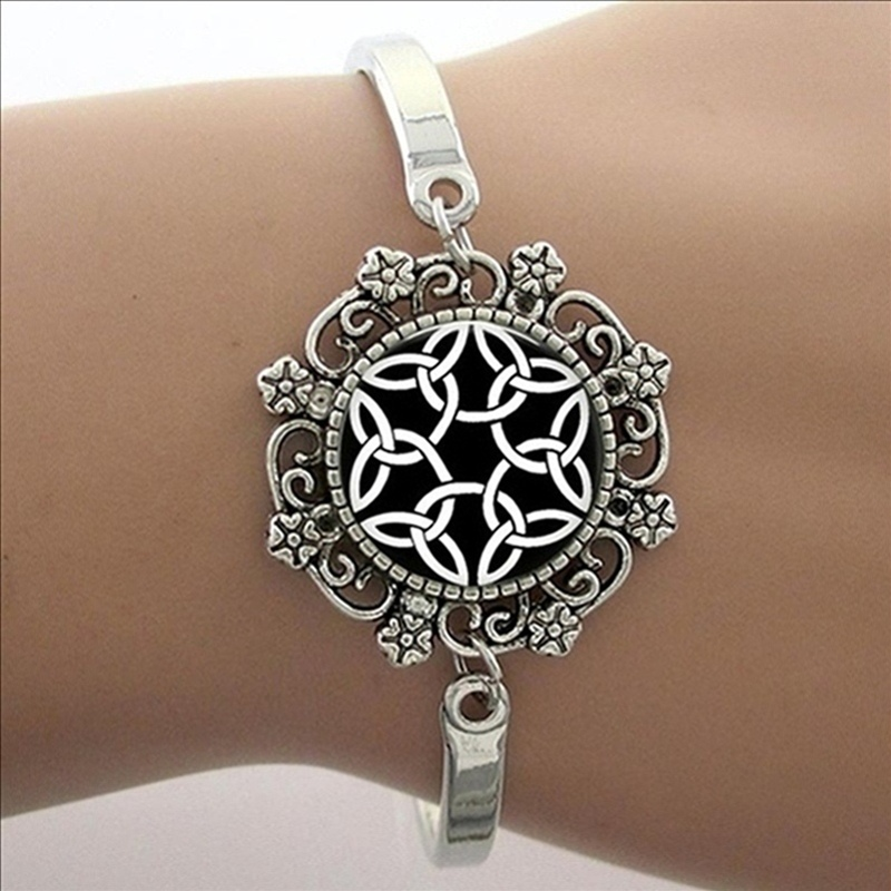 Square Charm Bracelet: 2017 New Arrival Real Charm Bracelets Square Mandala Om
