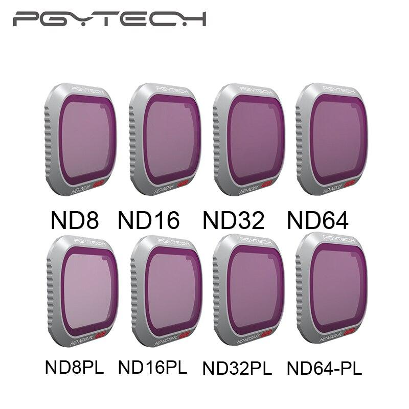 PGYTECH Mavic 2 Pro Caméra Lens Filter Set ND8/16/32/64-PL ND8/16/32 /64 filtres Kit DJI Mavic 2 Pro Filtre Accessoires