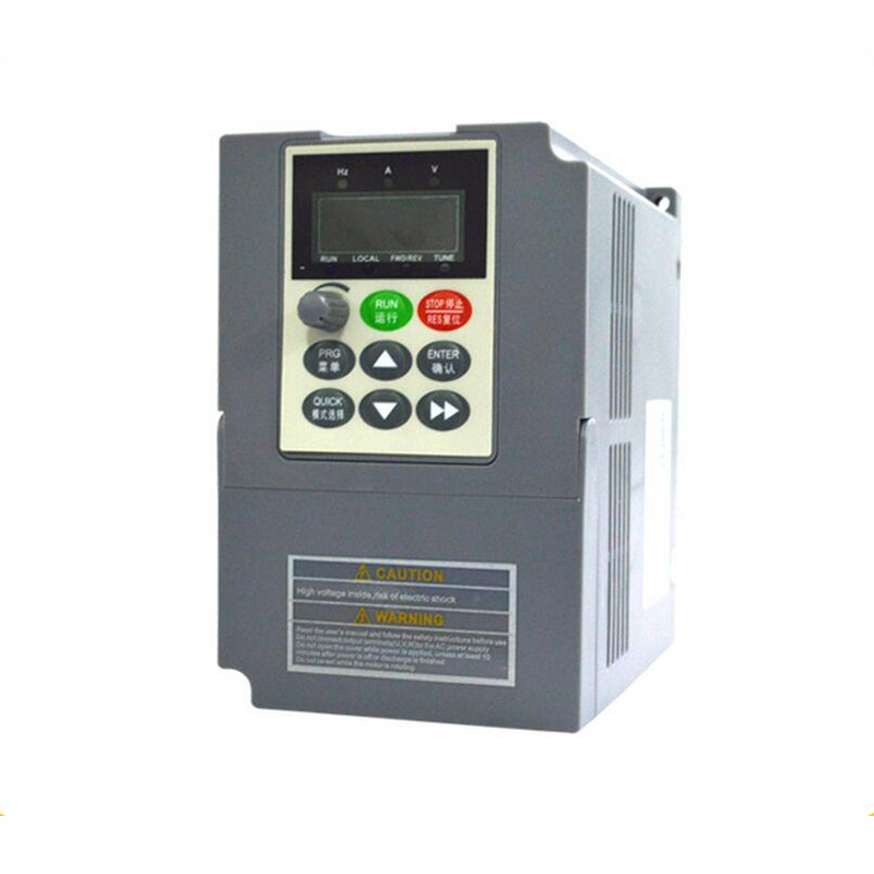 New VC V/F Control VFD 0.75KW 3Phase 380V 400Hz 2.1A Digital AC Inverter Universal Frequency Converter for CNC Machinery стоимость