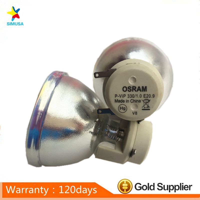 100%Original bare projector lamp bulb EC.K2700.001 for P7500 100% original bare projector lamp bulb bl fu280b sp 8by01gc01 bare lamp for ex765 ew766