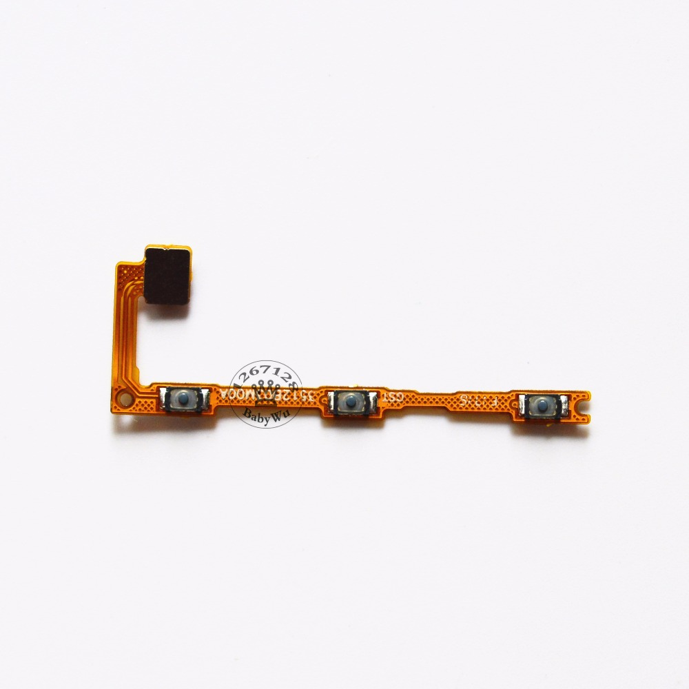 10PCS Power On/Off Key + Volume Up/Down Side Button Flex Cable for Xiaomi Max Mi Max Cell Phone Replacement Repair Parts