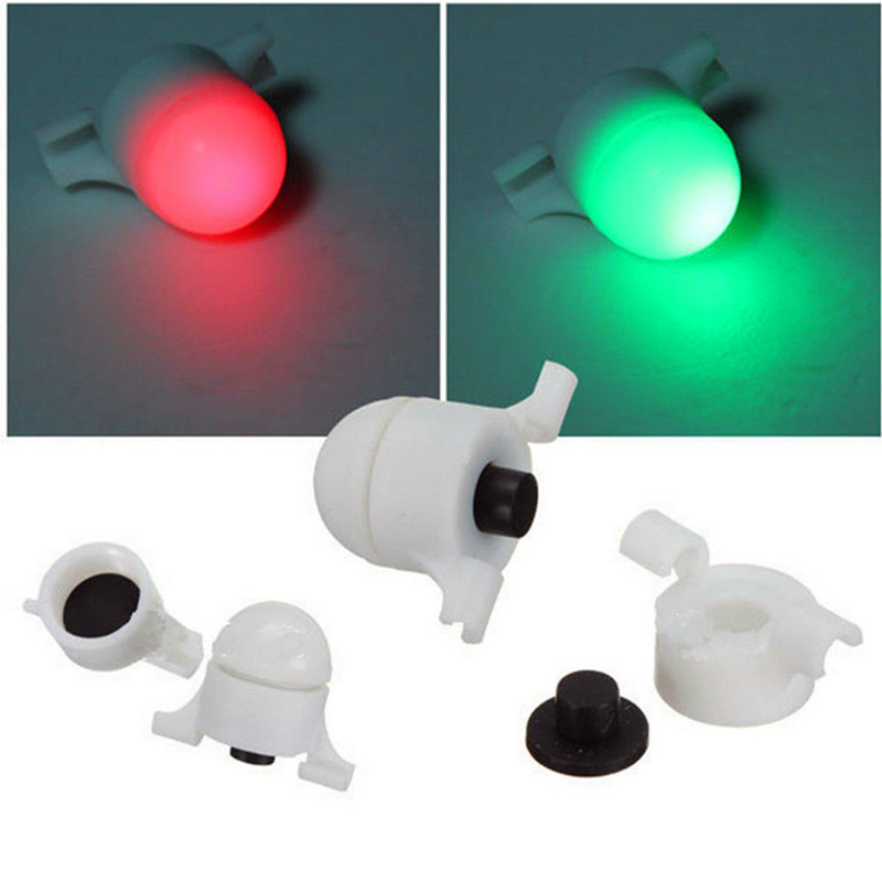 1Pcs Night Fishing LED Signal Light Outdoor Fishing Alarm Rod Tip Clip on Fish Bite Alar ...