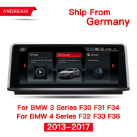 10.25 Quad Core Android 4.4 Car for BMW Series 3 F30 F31 F34 Series 4 F32 F33 F36 GPS Navigation Support iDrive Steering wheel