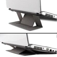 2019 Новый Портативный ультра тонкий для Macbook держатель Стенд складной ноутбука Тетрадь стол из поликарбоната Подставка для iPad компьютер Поддержка