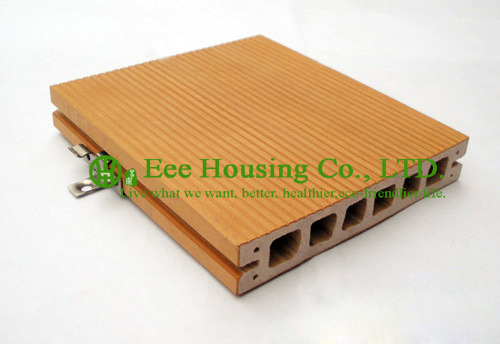 Stable Quality Outdoor WPC Decking For Balcony, Anti-moisture And Environmental Friendly