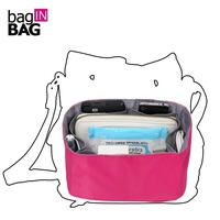 Bag Organizer For Brand Bucket Bag Open Barrel Shaped Cosmetic Bags Fashion Handbag Necessaire Women Organizador