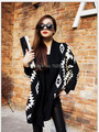 2016 new Cardigan Cape Knitting Coat lady Poncho shawl wraps Sweater #3635
