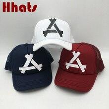 e3355ed0507 which in shower triangle printed breathable mesh hat summer baseball cap  women men snapback fishing bone