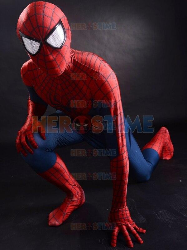 Increíble traje de Spider-Man 2, el más popular, rojo y azul, - Disfraces - foto 4
