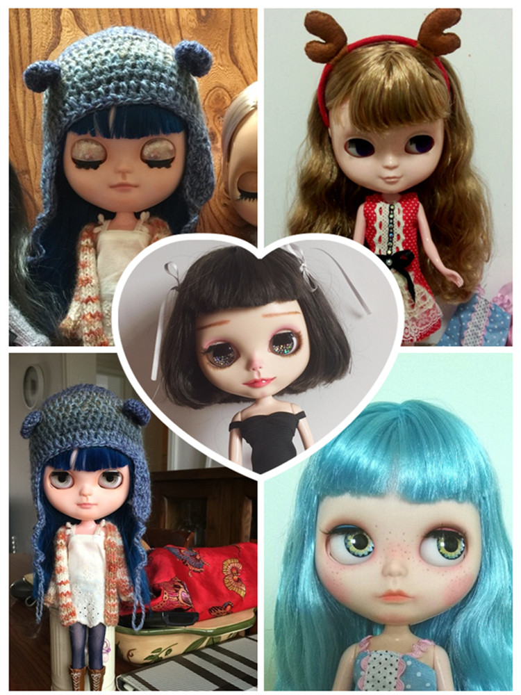 ICY Doll Like blyth doll Jecci five Suitable For DIY Change BJD Toy For Girls toy