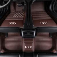 HeXinYan Custom Car Floor Mats for Porsche All Models Cayman Macan Cayenne Panamera Boxster 718 auto styling car accessories