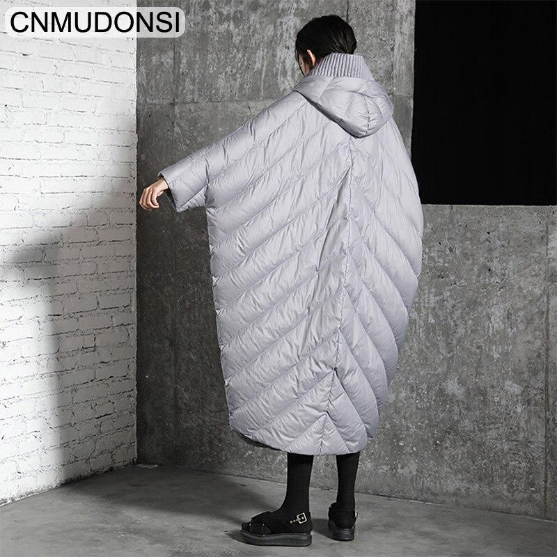 Unique Cnmudonsi De D'hiver Capuche Veste Nouvelle Manteau À Jaqueta Feminina Chaud Mode Taille 2018 Ljb0076gray Tendance Poitrine ljb0076caramel Femmes Grande ljb0076black rqAwrz7