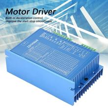 2DM860 Stepper Motor Controller Driver For CNC Router Engraving Machine Step Motor 32-bit DSP Motor Control Stepper Motor Driver new cnc controller dc 20 50v stepper motor driver brushless dc motor driver for 400w machine tool spindle