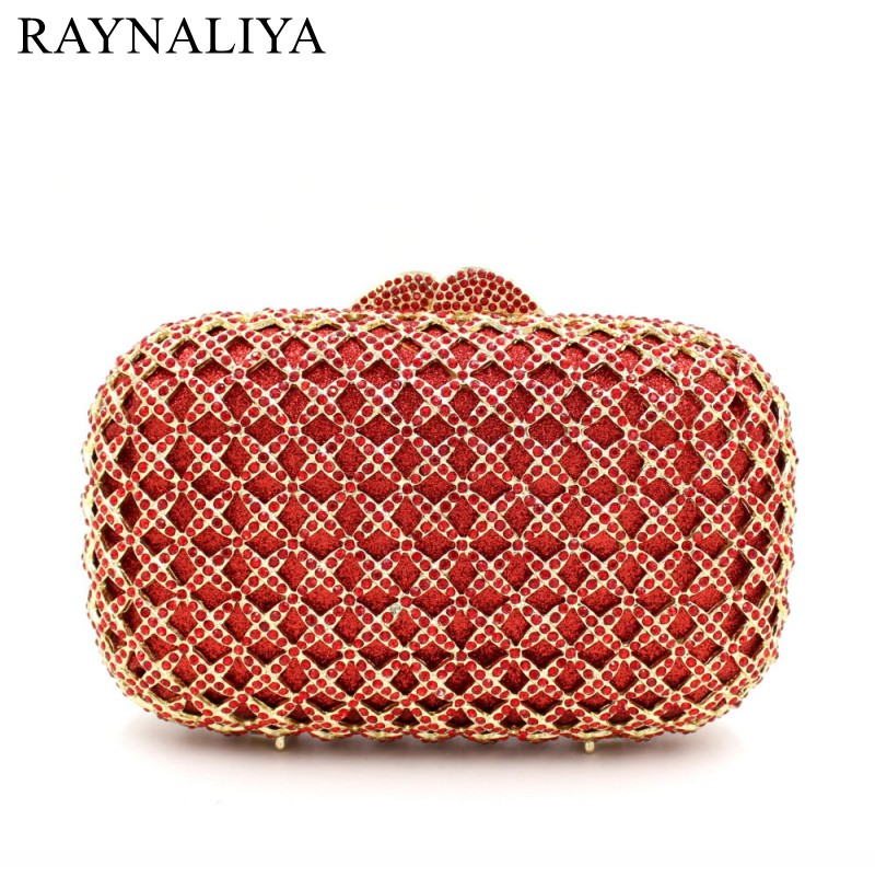 2017 Real Top Minaudiere Women Evening Bags Ladies Wedding Party Clutch Bag Crystal Diamonds Hollow Out Purses Smyzh-e0097 women luxury rhinestone clutch beading evening bags ladies crystal wedding purses party bag diamonds minaudiere smyzh e0193 page 1