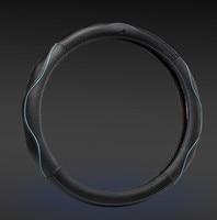 38cm Genuine leather steering wheel Cover for renault duster clio logan scenic scenic laguna accessories
