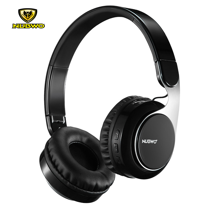 NUBWO S8 Bluetooth 4.2 Wireless + Wired Music Headphones Foldable Stereo Gaming Headsets With Microphone For iPhone Android picun c3 rose gold headphones with microphone for girls ps4 gaming headsets for apple iphone se galaxy s8 s7 a5 sony leeco asus
