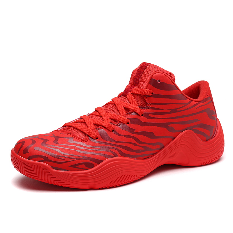 2018 Spring Mens On Court Basketball Shoes Support Cushioning Outdoor Sneakers Low-top T ...