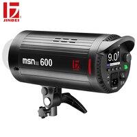 JINBEI MSN III-600 600Ws высокая скорость синхронизация студия стробоскоп вспышка GN80 1/19000 Длительность вспышки коммерческий портрет непрерывная стре...