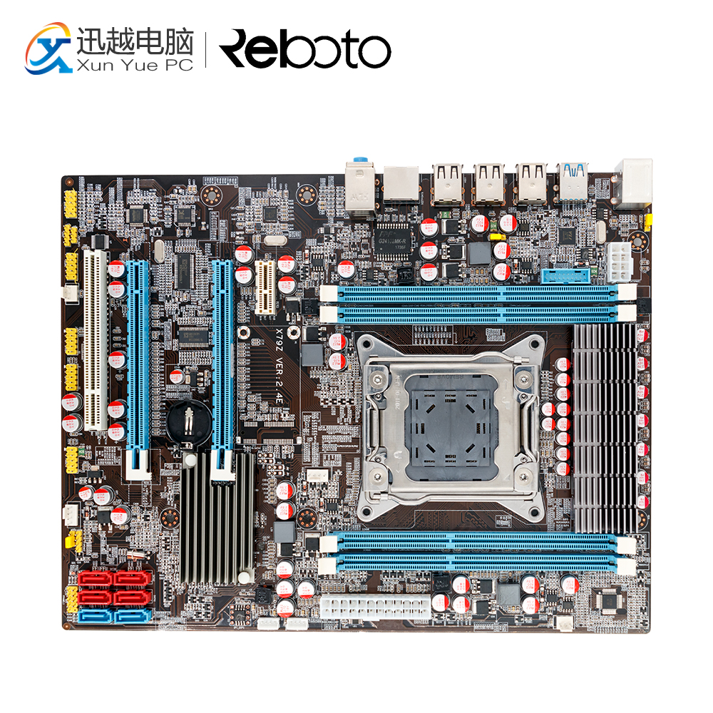 100% OEM New X79Z E5 2.4E Desktop Motherboard X79 LGA 2011 For I7 E5-V1 E5-V2 DDR3/ECC 64G 2*PCI-E SATA3 USB3.0 All-Solid ATX original sympa pci fol v1 0 378a