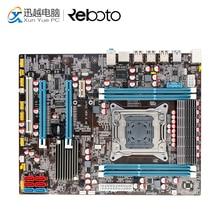 OEM 100% новый X79Z E5 2.4E рабочего Материнская плата X79 LGA 2011 для I7 E5-V1 E5-V2 DDR3/ECC 64 г 2 * PCI-E SATA3 USB3.0 все, ATX