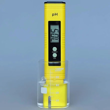 1Pc Portable PH Meter Pocket Digital Quality Measuring Range 0-14 for Aquarium Water Laboratory Floor