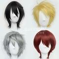 Heat Resistant 35cm Multicolor Short Hair With Fringe Cosplay Daily Wigs Ensemble Stars-Sakuma Ritsu/Sukuna Gojou/Tsukasa Suou