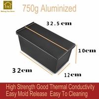 Oven Mold Cake Baking Pans Aluminum Case Box Bread Toast Bandeja De Horno Para Moulds Panmoule a Gateau Cake Supplies QKA032