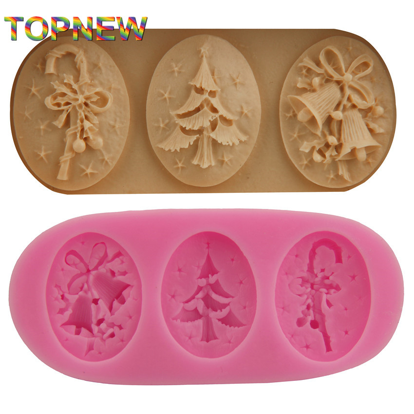 Christmas decorate shaped chocolate candy jello 3D ...