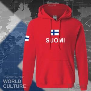 Image 4 - Sudaderas de Finlandia para hombre, ropa informal estilo hip hop, camisetas, chándal de jugador de fútbol, nación finlandesa, bandera Finn FI