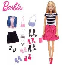 Barbie con Conjuntos de Ropa y Accesorios