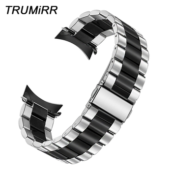 TRUMiRR Unique Stainless Steel Watchband +Tools for Moto 360 2 46mm Men Vector Luna / Meridian Watch Band Wrist Strap Bracelet