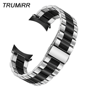Image 1 - سوار ساعة فريد من TRUMiRR من الفولاذ المقاوم للصدأ + أدوات لدراجات موتو 360 2 46 مللي متر سوار ساعة للرجال لناقلات لونا/ميريديان