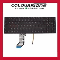 New Laptop keyboard for LENOVO Y700 US Black with Backlit Keyboard