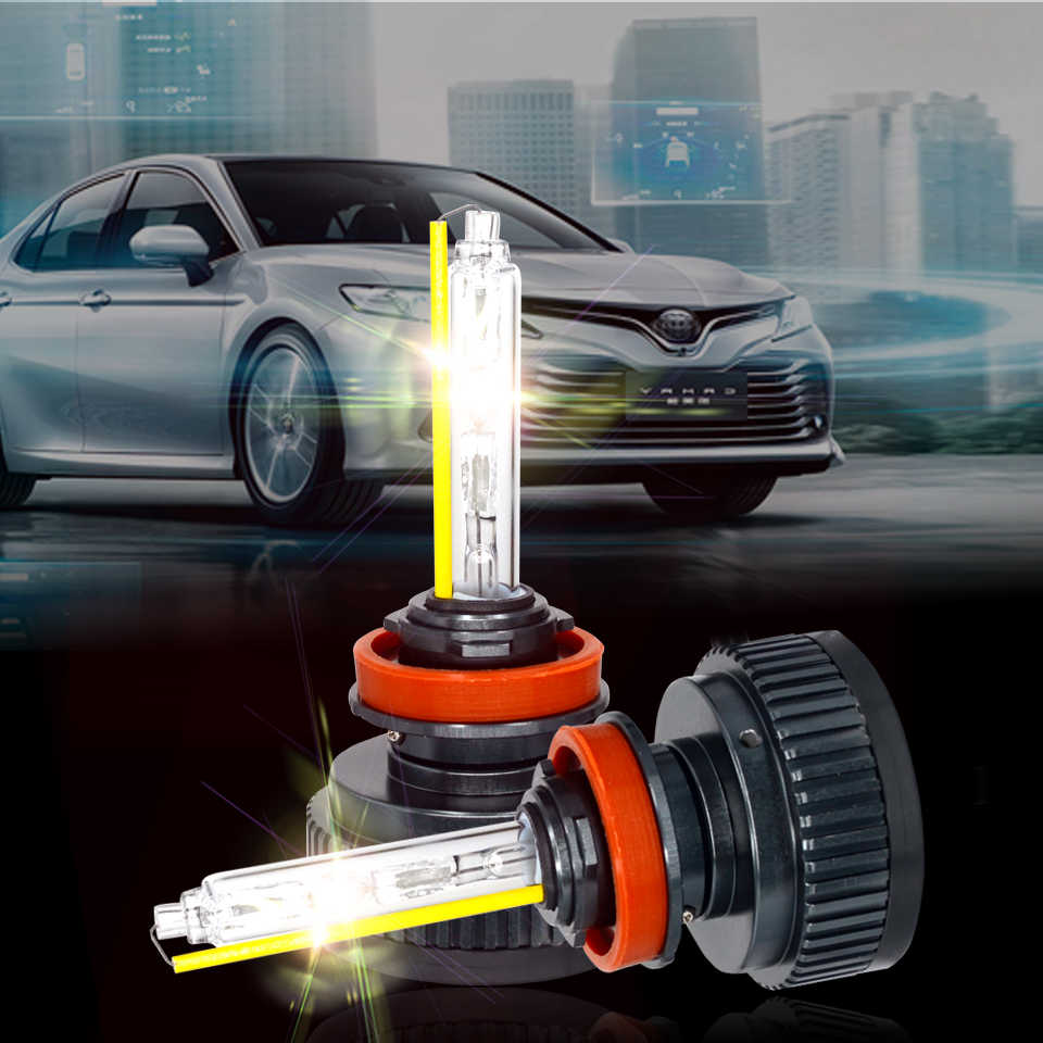 SUKIOTO Upgrade 2PCS Xenon H7 H11 D2H HB3 HB4 H1 xenon hid kit Car Headlight Mini Alll in One 55W 5500K for CITY ACCORD CIVIC