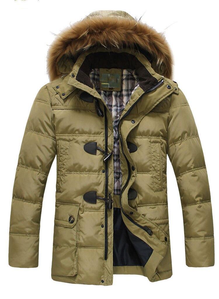 c0b3b5cc80fd 2016 Nouveau Hommes Mode Slim rembourré de coton veste chaude livraison  gratuite