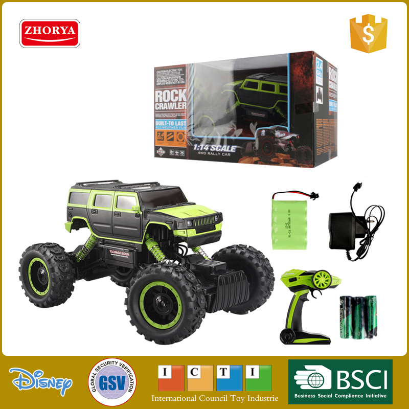 Hot 1:14 scale Four-wheel drive Cross-country Climbing car Off-road vehicle radio remote control rc toys for kids gifts four wheel drive remote control vehicle off road high speed children s competitive sports toys rc cars remote control car