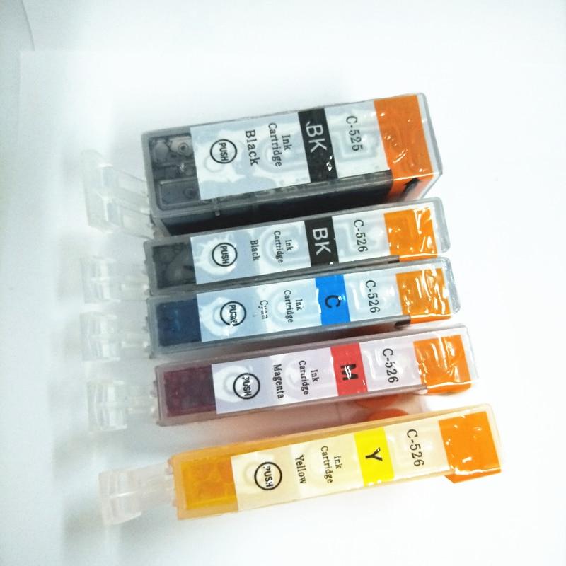 PGI 525 CLI 526 Ink Cartridge For Canon PGI 525 PGI525 CLI526 PIXMA MG5150 MG5250 MG5350 IP4850 IP4950 IX6550 MX715 MX885 MX895 in Ink Cartridges from Computer Office