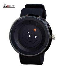 2016 hombres Enmex regalo hombres mujeres brief creativo reloj impermeable diseño simple luz deportes moda casual relojes de cuarzo