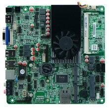 Motherboard for Celeron dual-core industrial mini-1037U board double 8LVDS Nano motherboard,1 years warranty