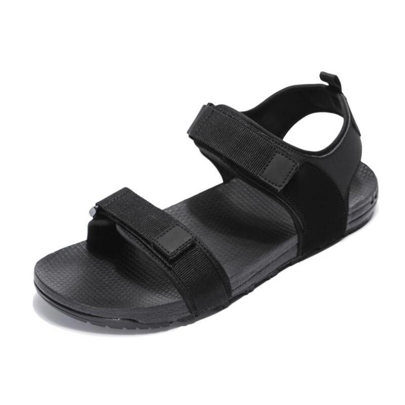 New 2018 men sandals summer shoes flat beach sandals men casual sandals black shoes Vietnamese sandals size 35 - 44