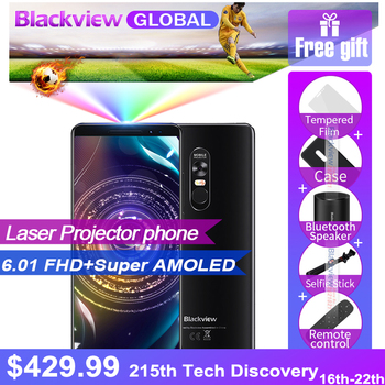 Pre-sale Blackview MAX 1 projector 6.01 inch MT6763T 6GB 64GB 16.0MP+16MP 42500mah 12v 2A Android 8.1 OS Маникюр