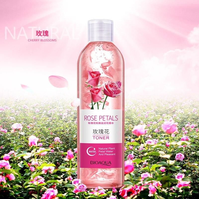 Pétalas de Rosa Água Poros Encolher Anti-envelhecimento Clareamento