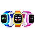 """Telefone gps de posicionamento gps smart watch q90 crianças assista 1.22 """"cor da Tela de Toque WiFi relógio Rastreador SOS Localize Dispositivo Wearable"""